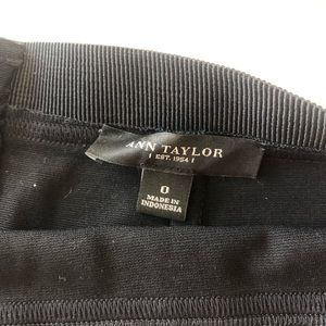 Ann Taylor Black Skirt - size 0